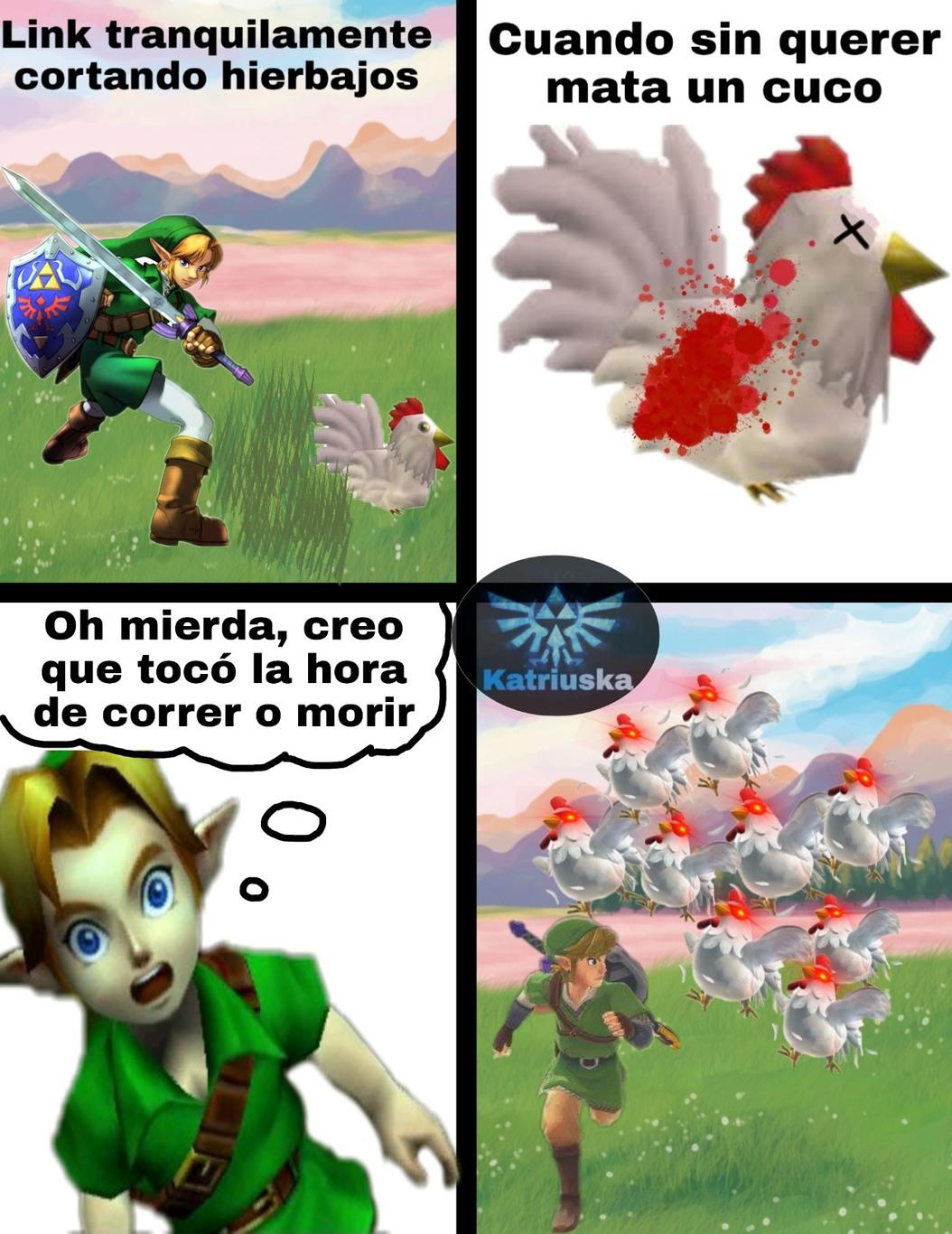 Memes De Link Y Mario Youtube