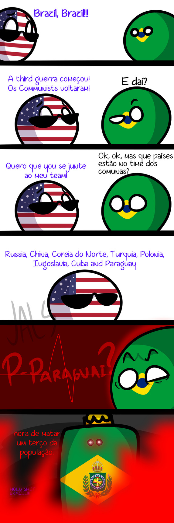 Brazil S Economy Is Better Than Ours Polandball Know Your Meme