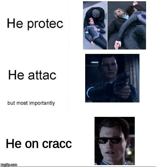 Connor Detroit Become Human Memes Facebook