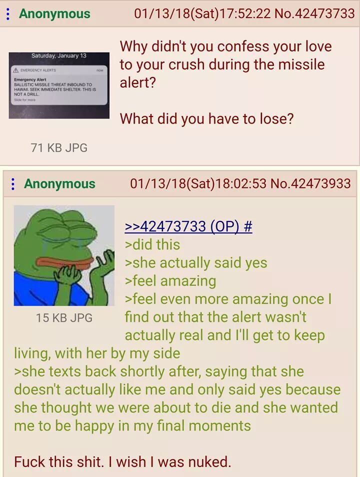Normal Day For Anon Greentext Stories Know Your Meme