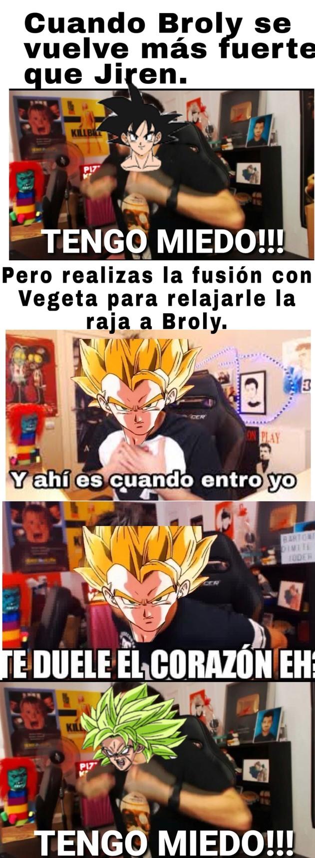 Top Memes De Broly En Espanol Memedroid