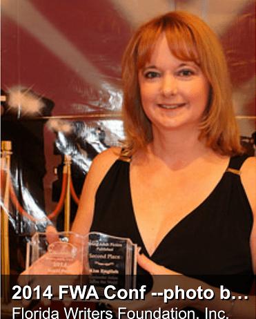 Kim English receives Florida Writer's Association  Award