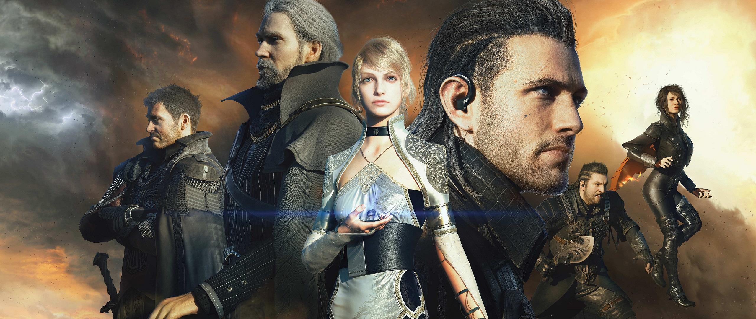 Kingsglaive Final Fantasy XV HD Wallpaper Background