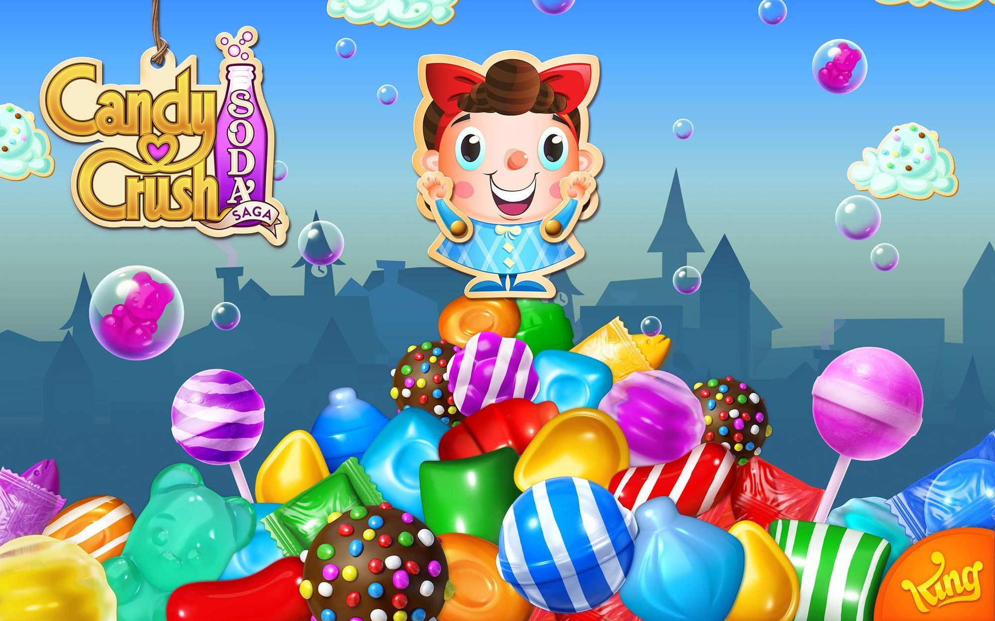 Candy Soda Play Crush Saga