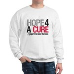 Brain Cancer Hope Cure Sweatshirt