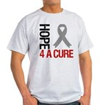 Brain Cancer Hope4ACure Light T-Shirt
