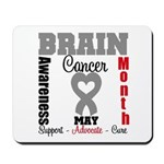 Brain Cancer Month Mousepad