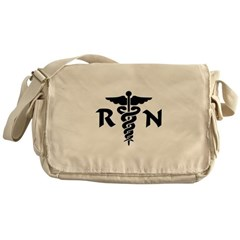 RN Symbol Messenger Bag
