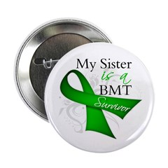 "Sister BMT Survivor 2.25"" Button (10 pack)"
