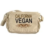 California Vegan Messenger Bag