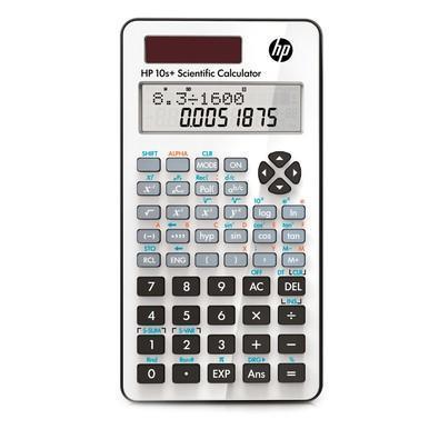 Calculadora Científica HP 10S+ com 240 Funções - Branca