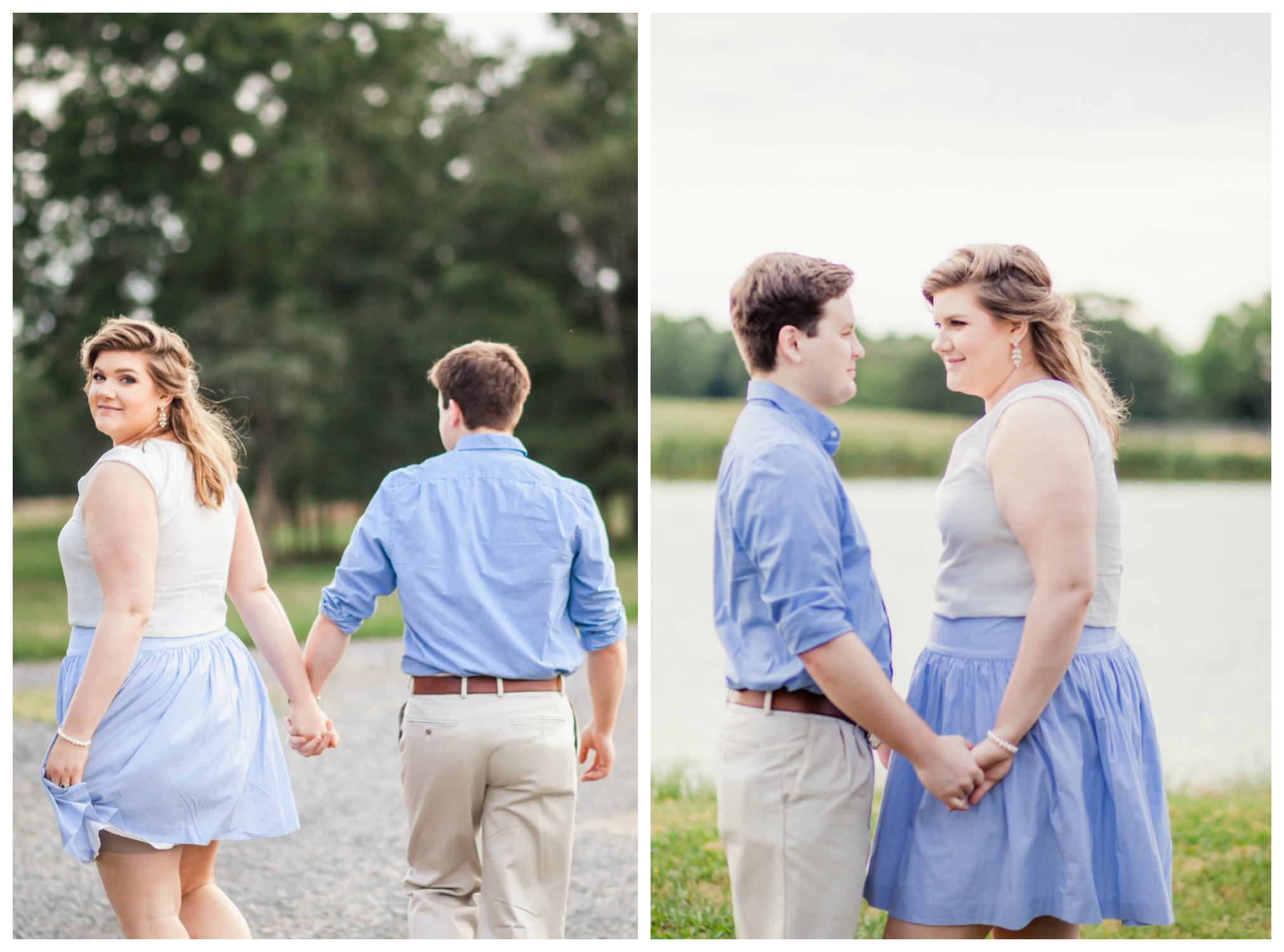 charlotte engagment session