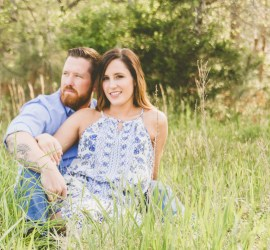 Raleigh Rustic Wedding Engagement