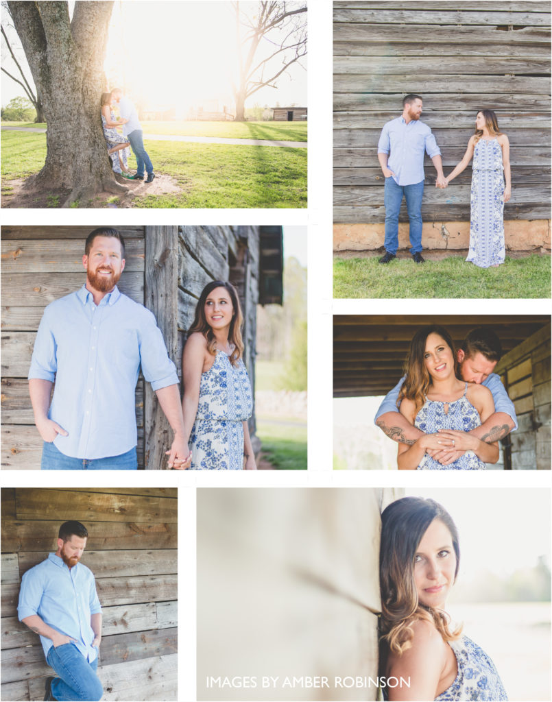 Rustic Raleigh Wedding Engagement