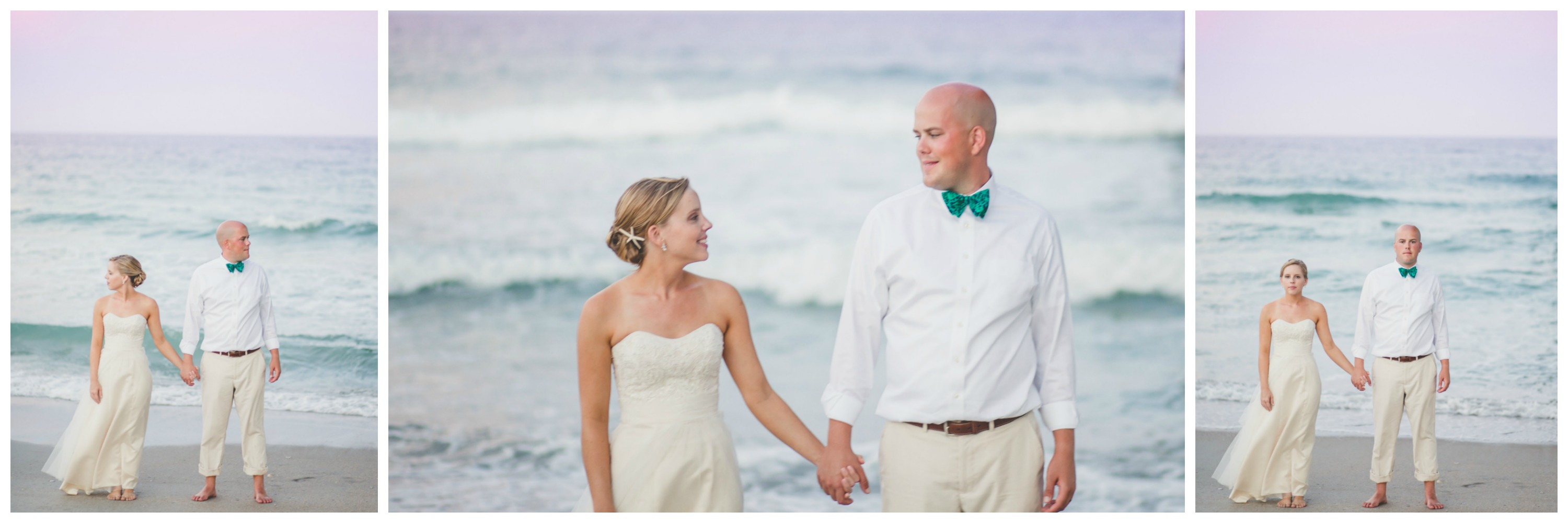 Raleigh Wedding Photographer | Images by Amber Robinson | Wrightsville Beach Wedding