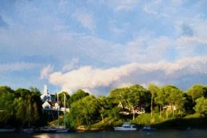 Cloud Formation Over Rockport Harbor copy