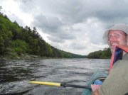 David, Delaware Water Gap, kayak