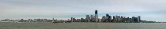 NYC, skyline, Liberty Island State Park, NJ