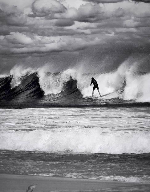 surfing, surf, waves, wind, surfer