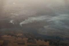 fire, plane