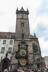 Prague, old town, Astronomical Clock @ Old Town Square