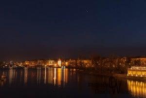 prague, old town, night