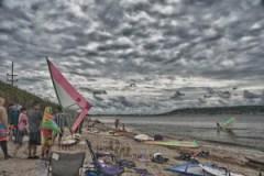 Sandy Hook, fun fest 2011, windsurfing, hdr
