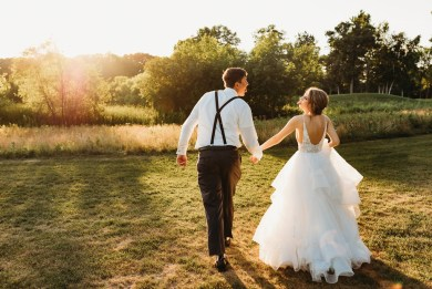 Minneapolis wedding photography blackberry ridge wedding sunset, How to Get Perfect Sunset Wedding Pics