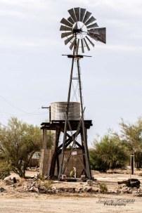 Quartzite, Az. windmill