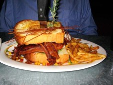 BIG food at Hash House a Go Go