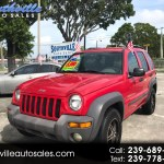 Used 2003 Jeep Liberty 2wd 4dr Sport For Sale In Ft Myers Fl 33901 Southville Auto Sales
