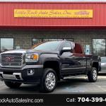 Used 2015 Gmc Sierra 2500hd Available Wifi 4wd Crew Cab 153 7 Denali For Sale In Charlotte Nc 28214 Little Rock Auto Sales Inc