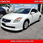 Used 2008 Nissan Altima 2 5 S Coupe For Sale In Nashville Tn 37210 Master Cars Inc