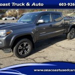 Used 2016 Toyota Tacoma Double Cab Long Bed V6 Auto 4wd For Sale In Hampton Falls Nh 03844 Seacoast Truck Auto