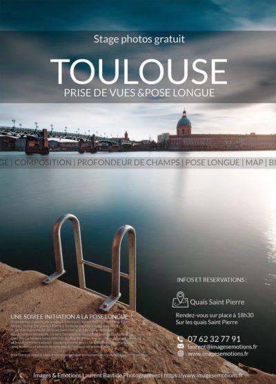 stage photos gratuits Toulouse initiation à la pose longue