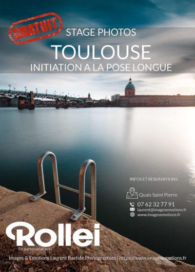 Stage photos gratuit Toulouse - Initiation à la pose longue