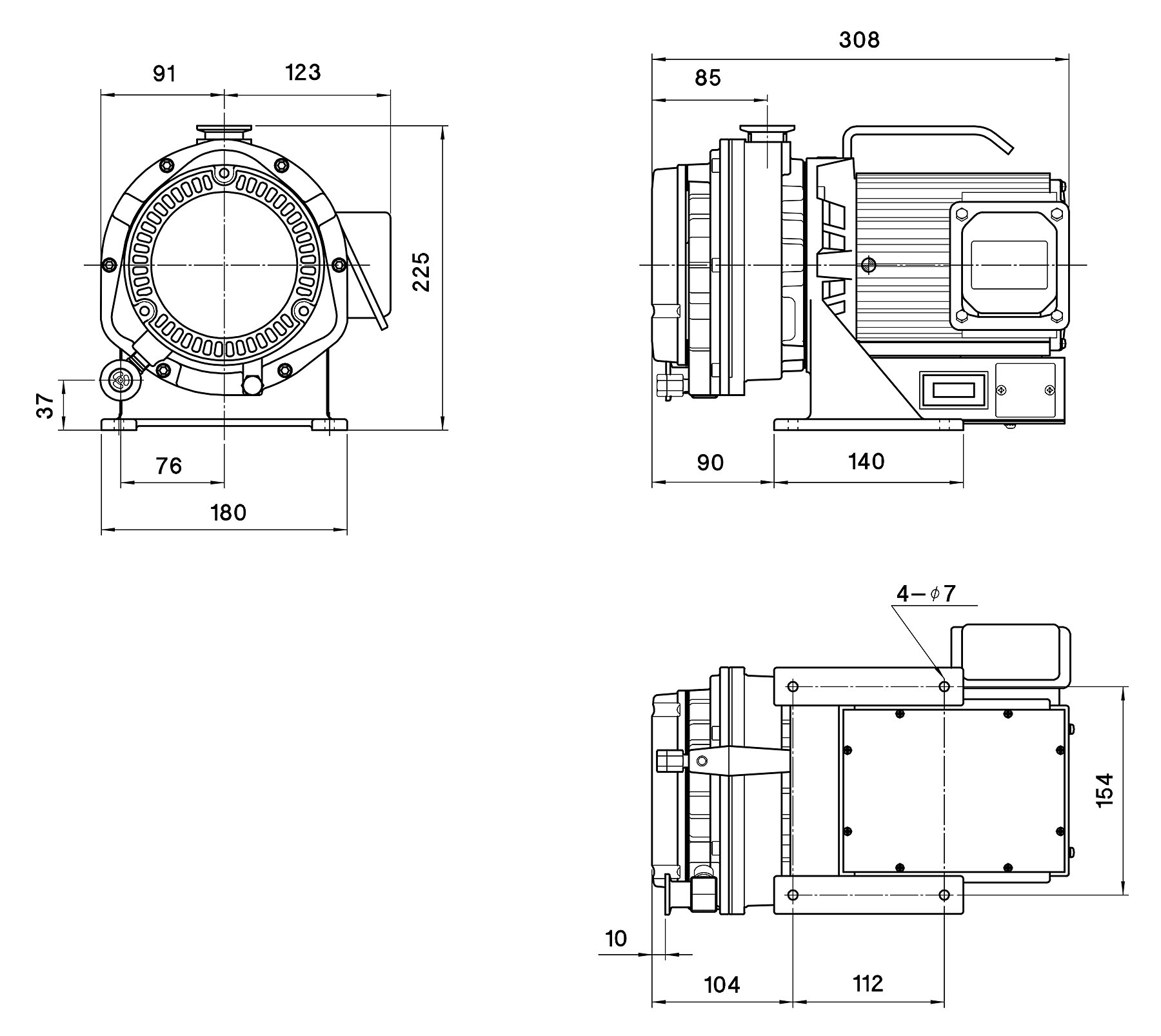 Anest Iwata Isp 90 Dry Scroll Vacuum Pump