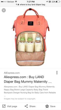 LAND Diaper Bag Where To Buy BabyCenter