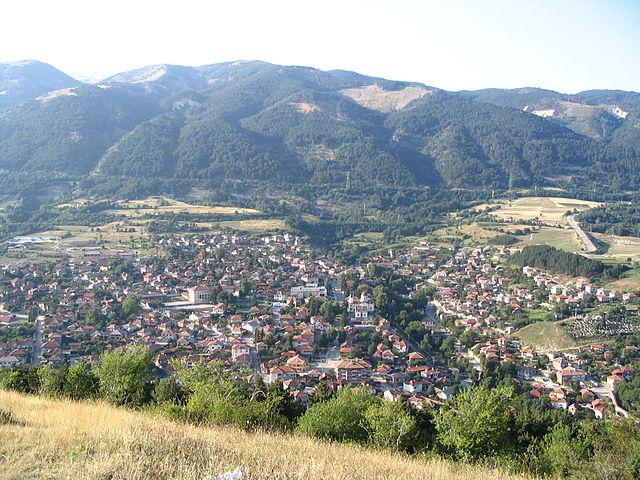 гледка от Средна Гора / View from Sredna Gora Photo: Strelchev