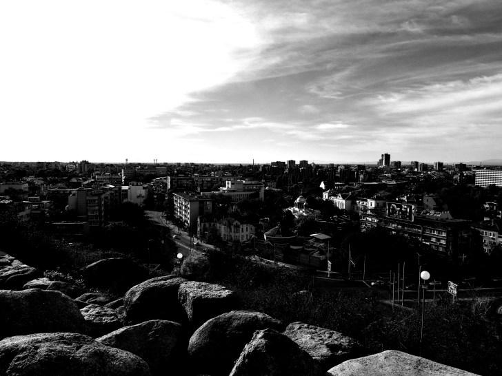 Гледка към града / Plovdiv view