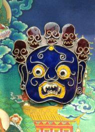 синя маска