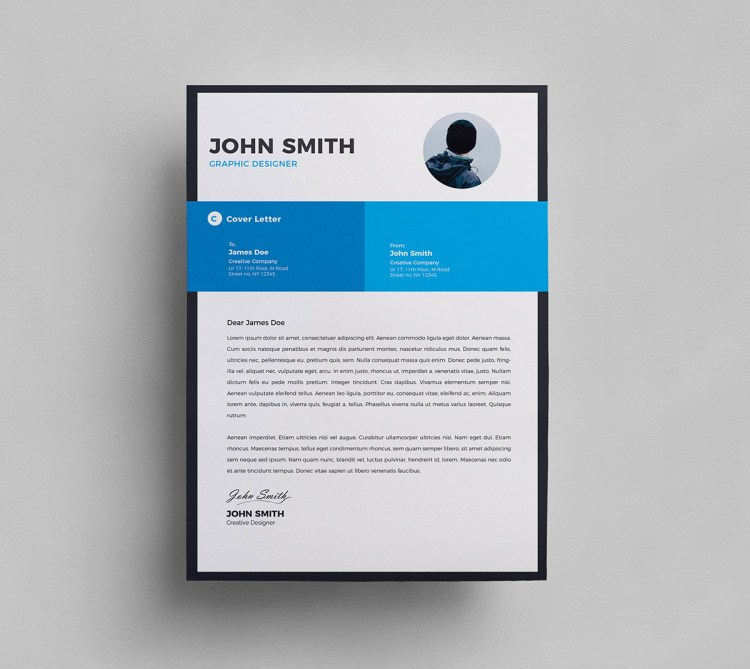 Clean Resume Cover Letter