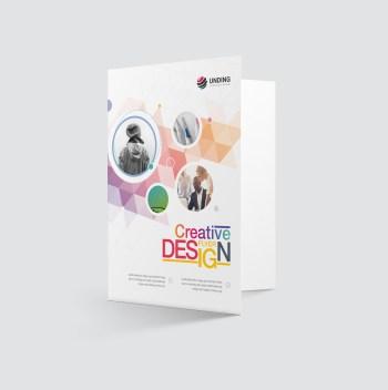 Diamond Elegant Presentation Folder Template