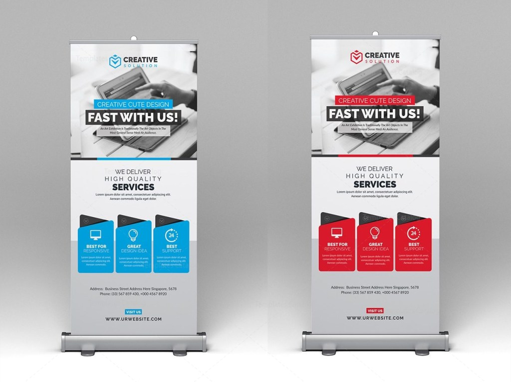 Rollup-Banner-Template