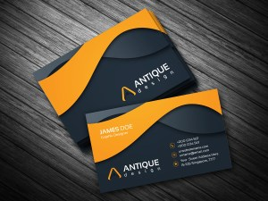 Stylish Multicolor Business Card Template