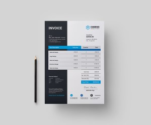 Stylish Invoice Design