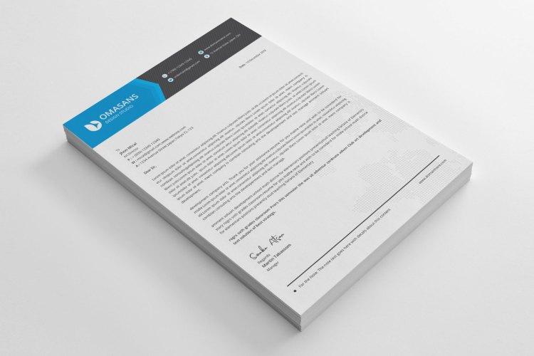 Elegant Corporate Letterhead Design