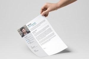 Sleek Resume CV Template