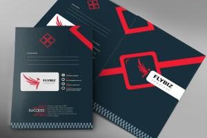 EPS Presentation Folder Template