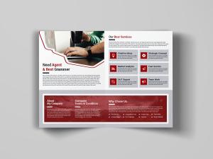 A Creative Bi Fold Brochure
